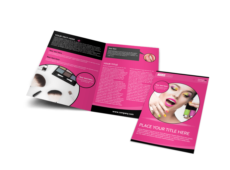 Beauty Supply Brochure Template Preview 1