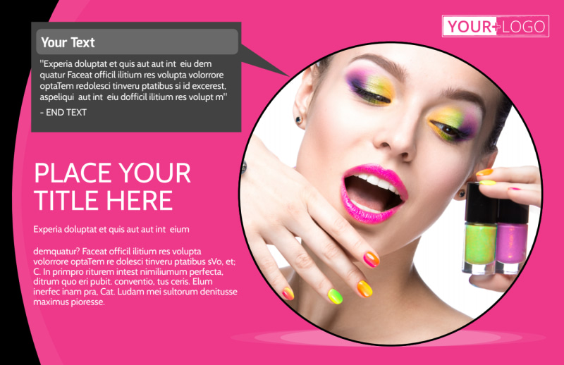 Beauty Supply Postcard Template Preview 2