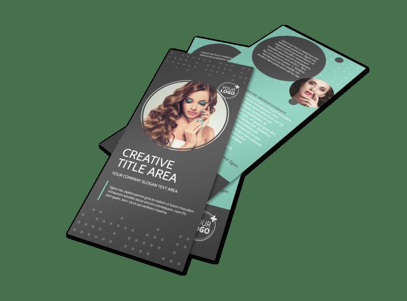 Hair & Makeup Salon Flyer Template Preview 1