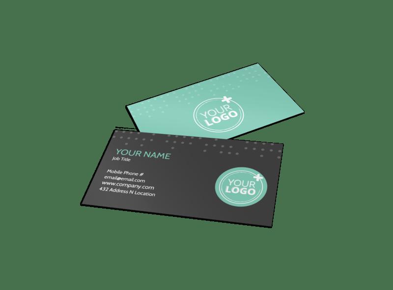 Hair & Makeup Salon Business Card Template Preview 1