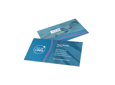 Nail Salon Business Cards Template Preview
