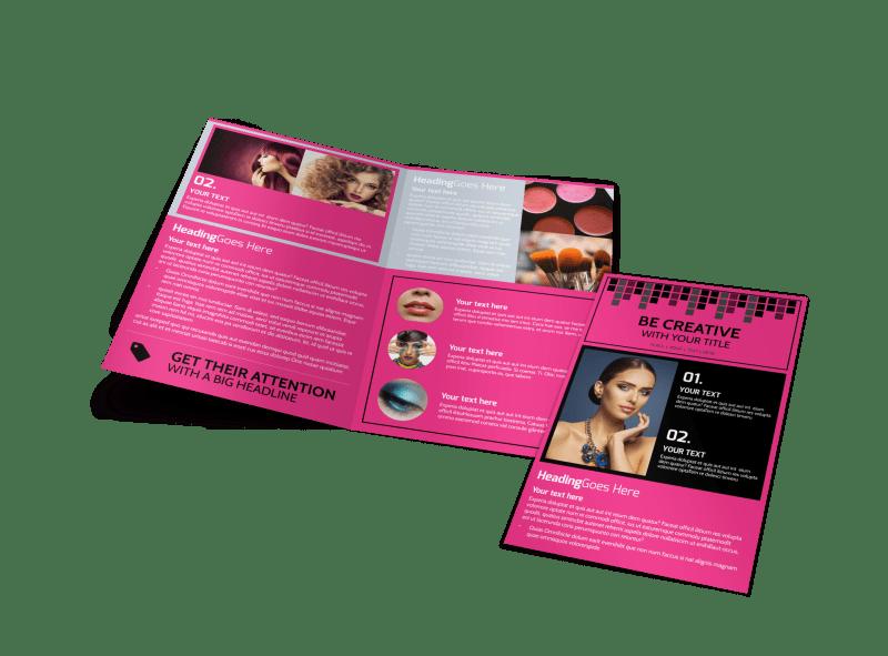 Studio Makeup Artist Brochure Template Preview 1