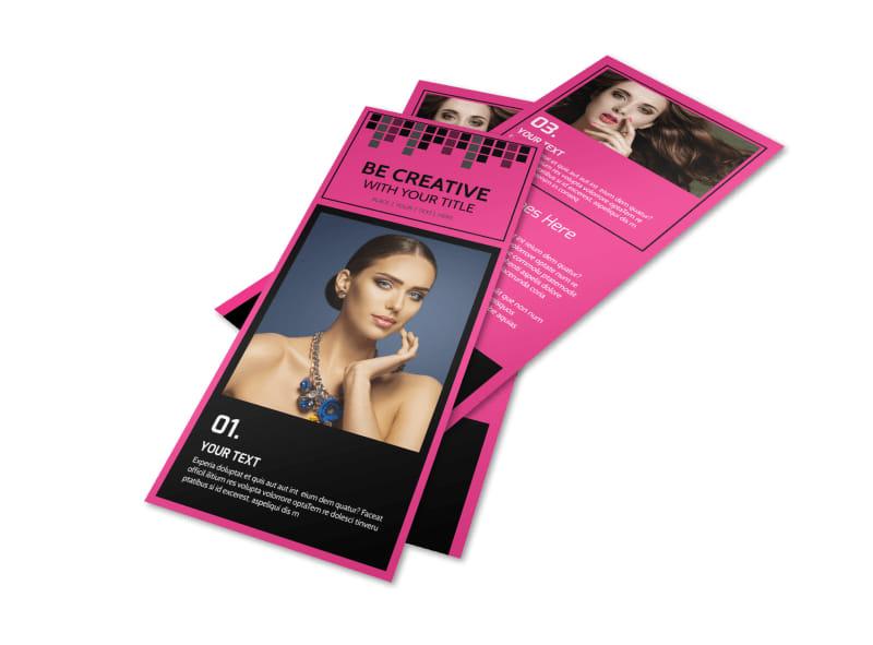 Studio Makeup Artist Flyer Template Preview 4
