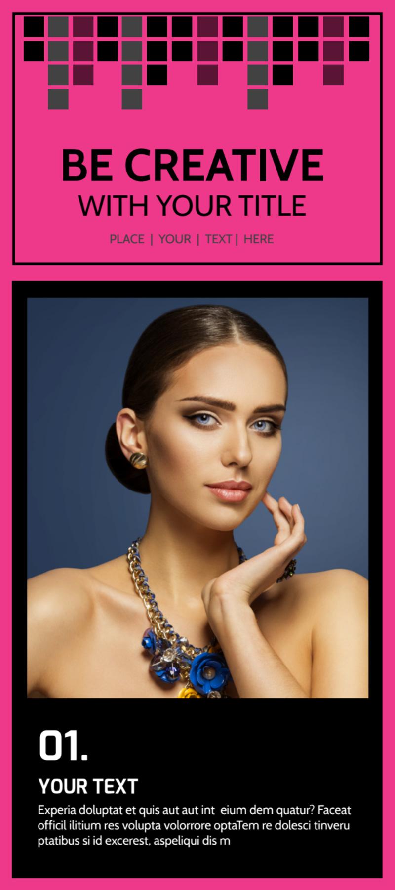Studio Makeup Artist Flyer Template Preview 2