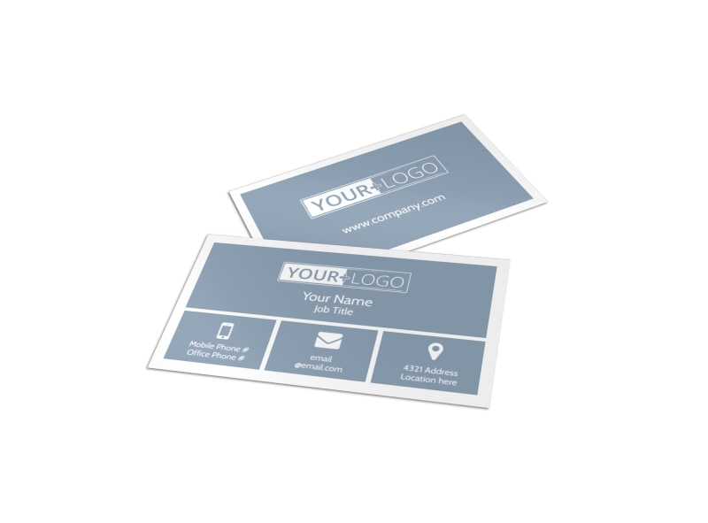 Total Beauty Skin Care Business Card Template