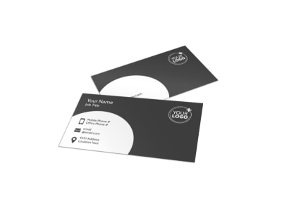 Relaxing Salon & Day Spa Business Card Template