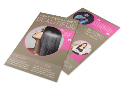 Hair Artists Salon Flyer Template