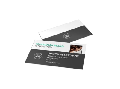 Total Hair Care Business Card Template