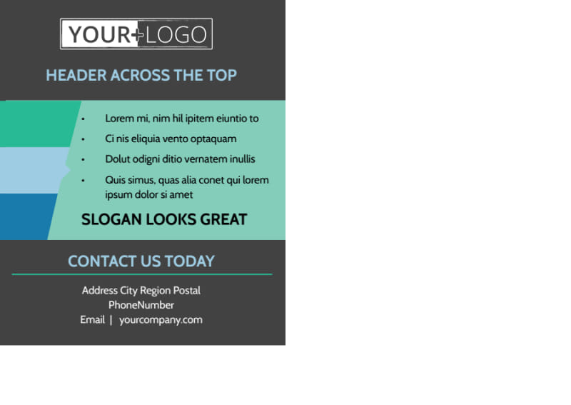 Total Hair Care Postcard Template Preview 3