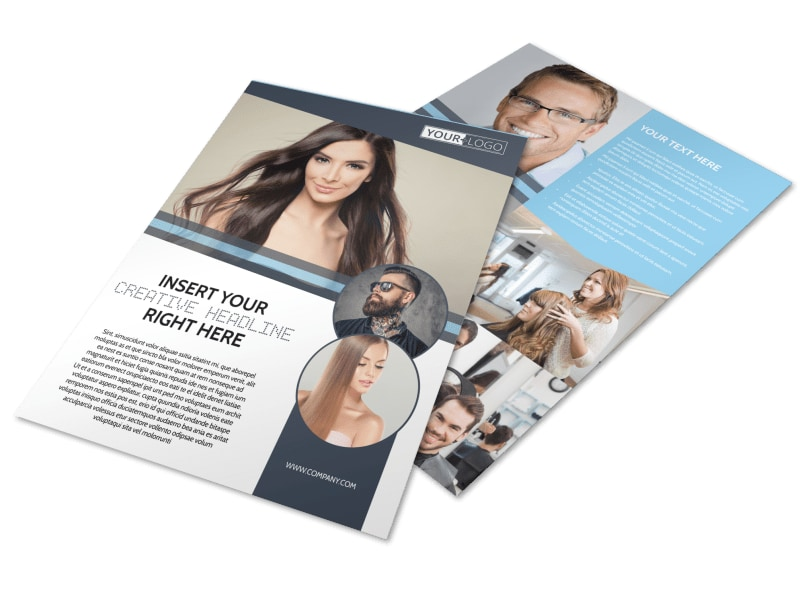 Smartstyle Hair Salon Flyer Template
