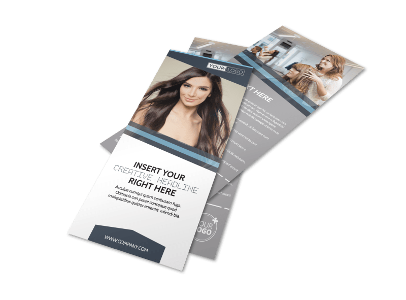 Smartstyle Hair Salon Flyer Template Preview 1