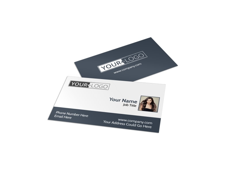 Smartstyle Hair Salon Business Card Template