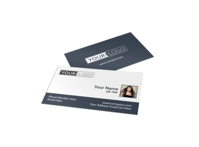 Smartstyle Hair Salon Business Card Template preview