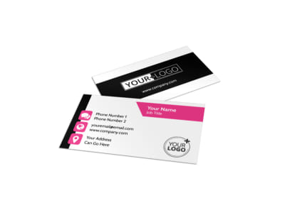Beauty Queen Salon Business Card Template