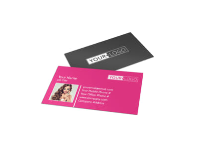 Makeup Professionals Business Card Template