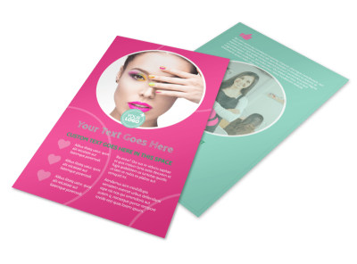 Polished Nail Spa Flyer Template