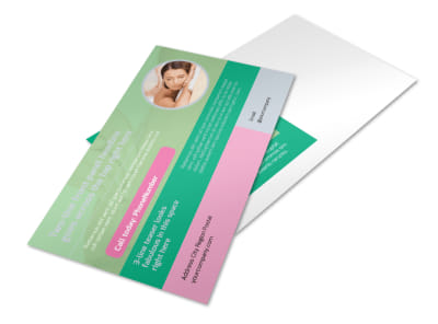Relaxing Spa Experience Postcard Template