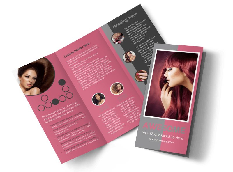 Beauty Experts Brochure Template Preview 1