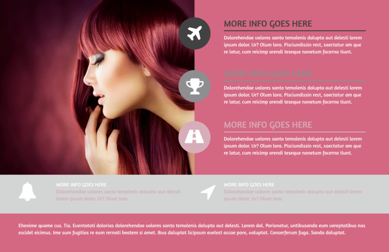 Beauty Experts Postcard Template Preview 2