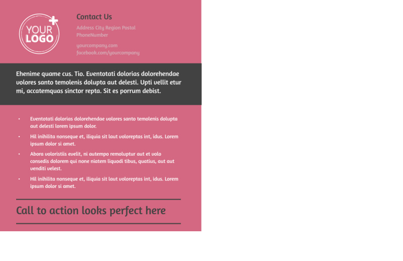 Beauty Experts Postcard Template Preview 3