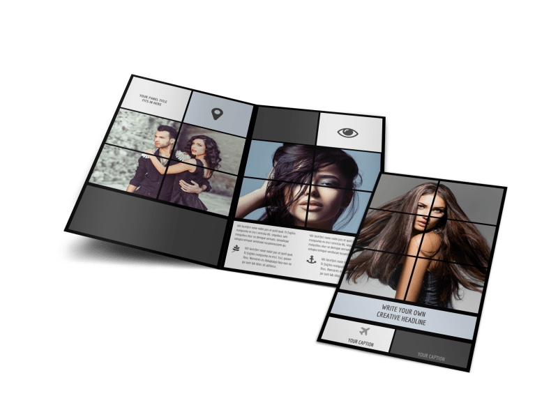 Modeling Agency Brochure Template Preview 4