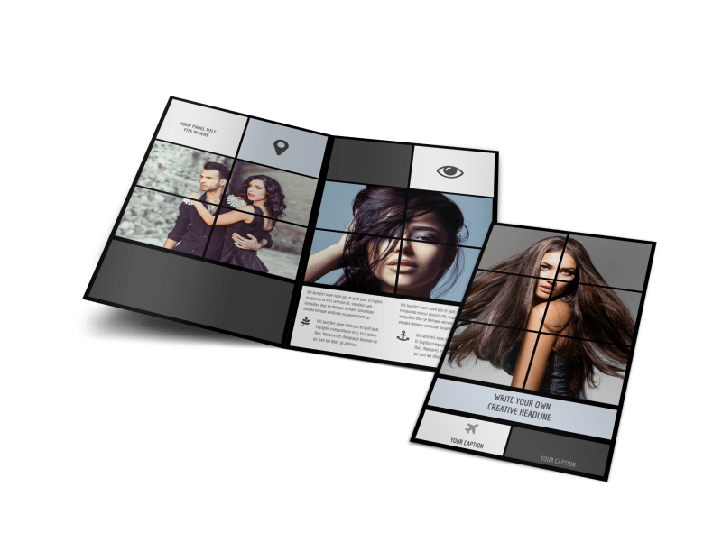 Modeling Agency Brochure Template Preview 1