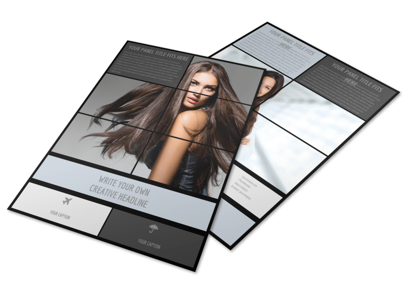 Modeling Agency Flyer Template Preview 1