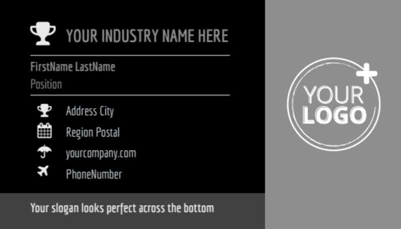Modeling Agency Business Card Template Preview 2