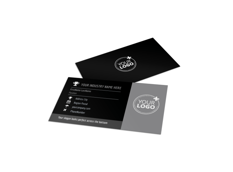 Modeling Agency Business Card Template Preview 1