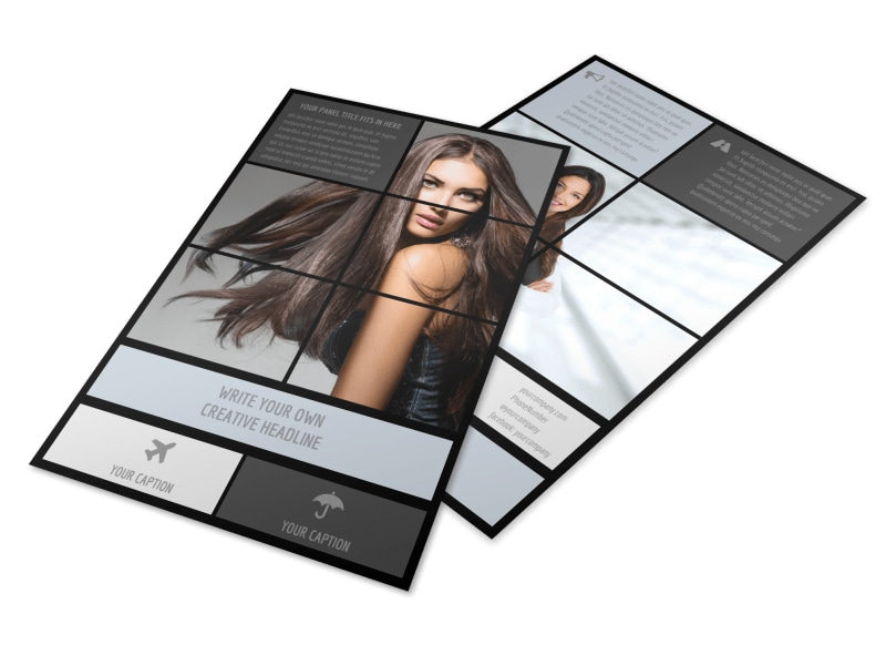 Modeling Agency Flyer Template Preview 4