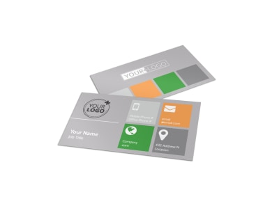 Home Drywall & Painting Business Card Template preview