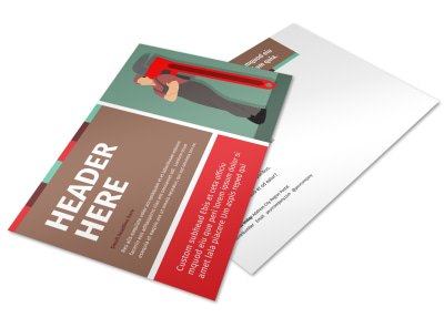 Dependable Plumbing Postcard Template preview