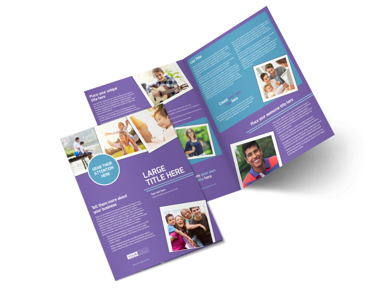 Child Adoption Services Brochure Template Preview 4