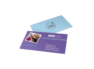 Child Adoption Services Business Card Template