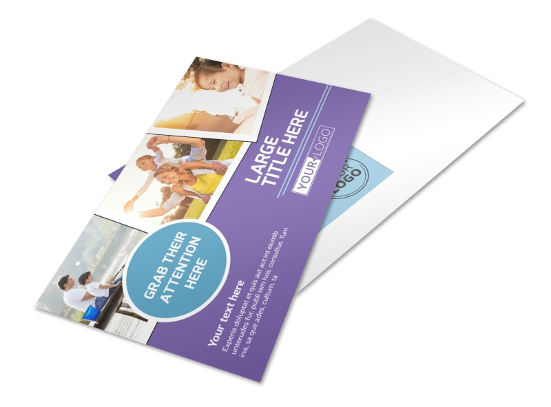Child Adoption Services Postcard Template Preview 4