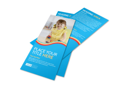 Child Development Program Flyer Template