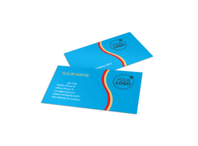 Child Development Program Business Card Template