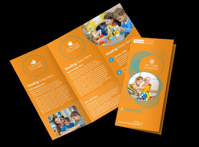 Head Start Child Development Brochure Template Preview 1
