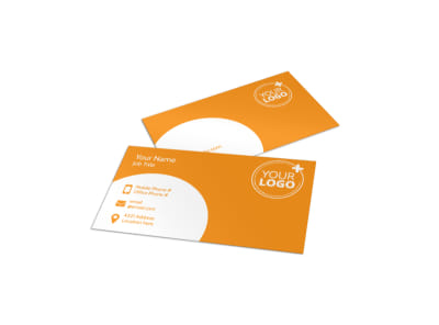 Head Start Child Development Business Card Template preview