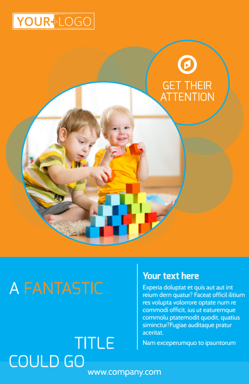 Head Start Child Development Flyer Template Preview 2