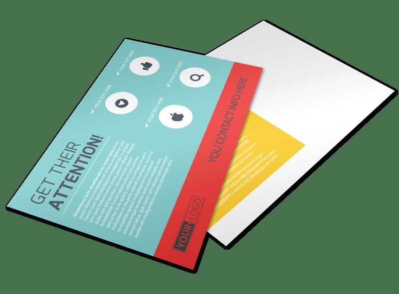 Community Children Center Postcard Template Preview 1