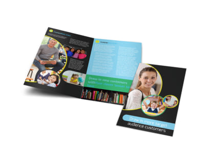 Academy For Children Bi-Fold Brochure Template
