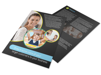 Academy For Children Flyer Template