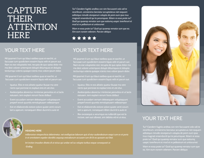 Domestic Adoption Agency Brochure Template Preview 3