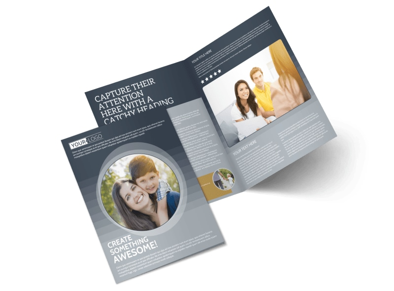 Domestic Adoption Agency Brochure Template Preview 4