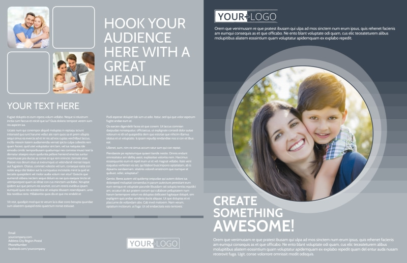 Domestic Adoption Agency Brochure Template Preview 2