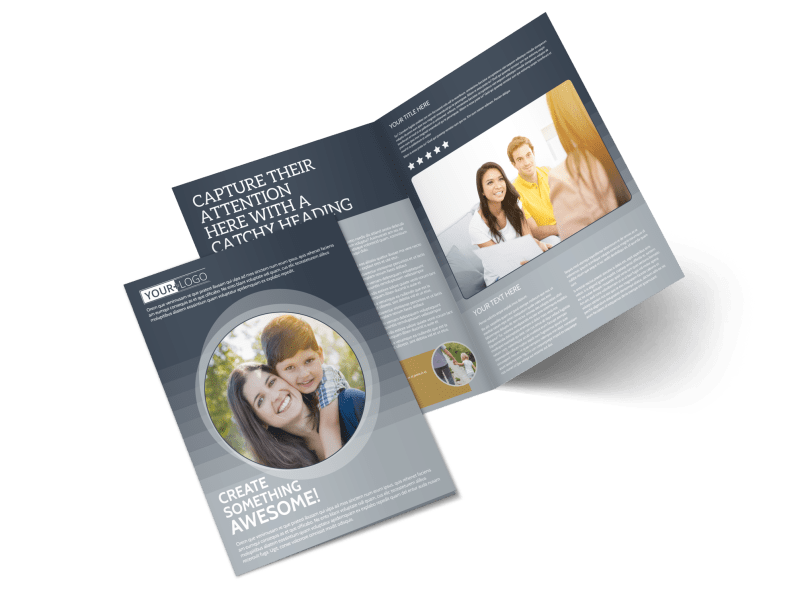 Domestic Adoption Agency Brochure Template Preview 1