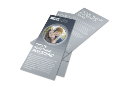 Domestic Adoption Agency Flyer Template preview