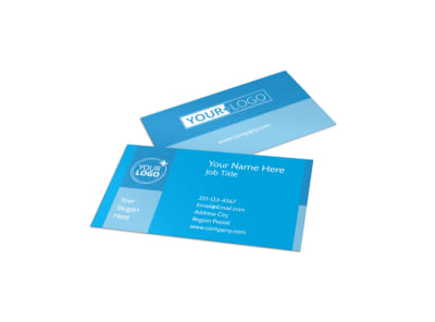 Child Care & Early Education Business Card Template preview