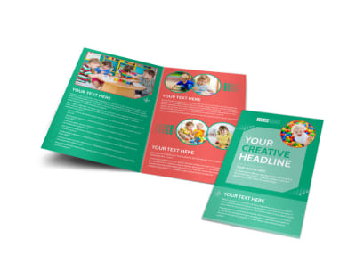 Drop-in Daycare Bi-Fold Brochure Template